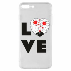 Чохол для iPhone 8 Plus LOVE hedgehogs