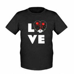 Дитяча футболка LOVE hedgehogs