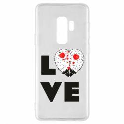 Чохол для Samsung S9+ LOVE hedgehogs
