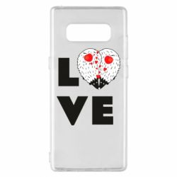 Чохол для Samsung Note 8 LOVE hedgehogs