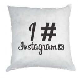 Подушка Love Instagram - FatLine
