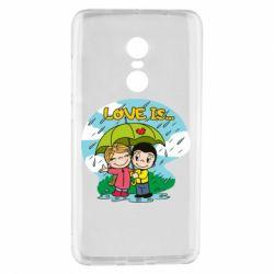 Чохол для Xiaomi Redmi Note 4 Love is ... in the rain
