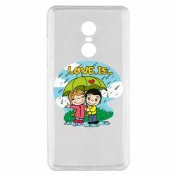Чохол для Xiaomi Redmi Note 4x Love is ... in the rain