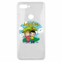 Чохол для Xiaomi Mi8 Lite Love is ... in the rain