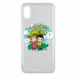 Чохол для Xiaomi Mi8 Pro Love is ... in the rain