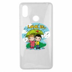 Чохол для Xiaomi Mi Max 3 Love is ... in the rain