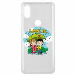 Чохол для Xiaomi Mi Mix 3 Love is ... in the rain