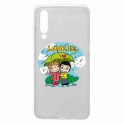 Чохол для Xiaomi Mi9 Love is ... in the rain
