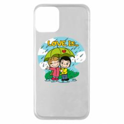 Чохол для iPhone 11 Love is ... in the rain