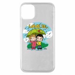 Чохол для iPhone 11 Pro Love is ... in the rain