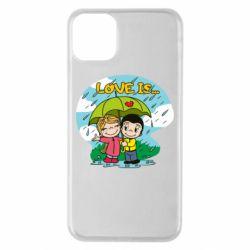 Чохол для iPhone 11 Pro Max Love is ... in the rain