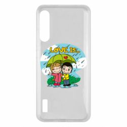 Чохол для Xiaomi Mi A3 Love is ... in the rain