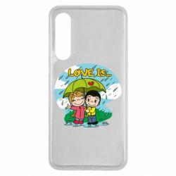Чохол для Xiaomi Mi9 SE Love is ... in the rain