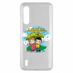 Чохол для Xiaomi Mi9 Lite Love is ... in the rain