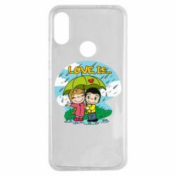 Чохол для Xiaomi Redmi Note 7 Love is ... in the rain