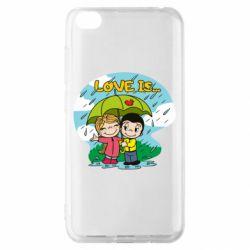 Чохол для Xiaomi Redmi Go Love is ... in the rain