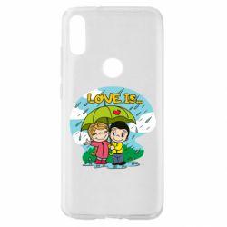 Чохол для Xiaomi Mi Play Love is ... in the rain