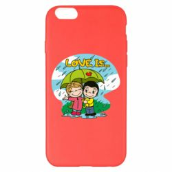 Чохол для iPhone 6 Plus/6S Plus Love is ... in the rain