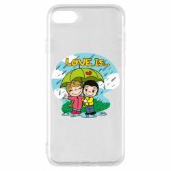 Чохол для iPhone 8 Love is ... in the rain