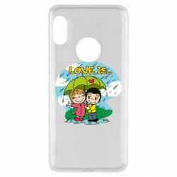 Чохол для Xiaomi Redmi Note 5 Love is ... in the rain