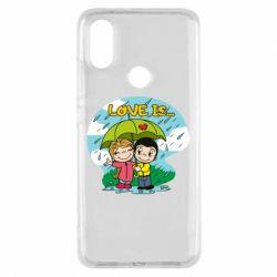 Чохол для Xiaomi Mi A2 Love is ... in the rain