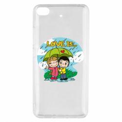 Чохол для Xiaomi Mi 5s Love is ... in the rain
