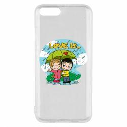 Чохол для Xiaomi Mi6 Love is ... in the rain