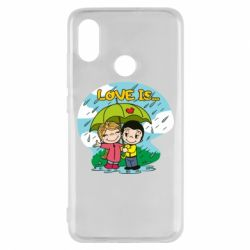 Чохол для Xiaomi Mi8 Love is ... in the rain