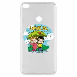 Чохол для Xiaomi Mi Max 2 Love is ... in the rain