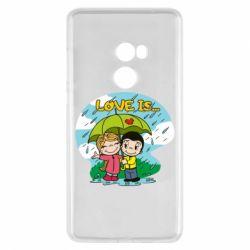 Чохол для Xiaomi Mi Mix 2 Love is ... in the rain