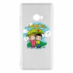 Чохол для Xiaomi Mi Note 2 Love is ... in the rain