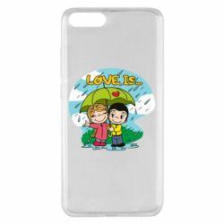 Чохол для Xiaomi Mi Note 3 Love is ... in the rain
