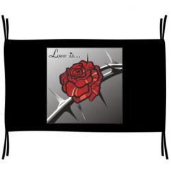 Прапор Love is ... roze