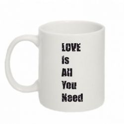 Кружка 320ml Love is all you need - FatLine