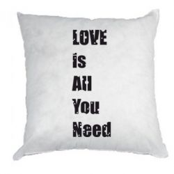 Подушка Love is all you need - FatLine