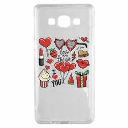 Чохол для Samsung A5 2015 Love is in the air
