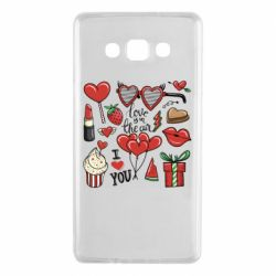 Чохол для Samsung A7 2015 Love is in the air
