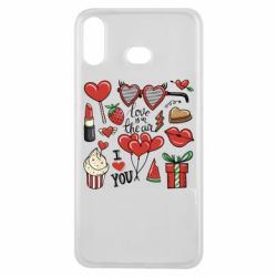 Чохол для Samsung A6s Love is in the air