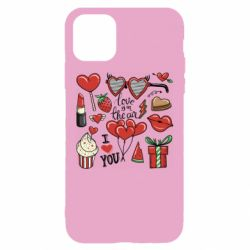 Чохол для iPhone 11 Love is in the air