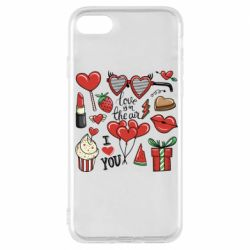 Чохол для iPhone 7 Love is in the air