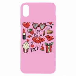 Чохол для iPhone X/Xs Love is in the air