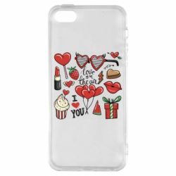 Чохол для iphone 5/5S/SE Love is in the air