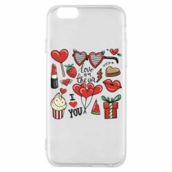 Чохол для iPhone 6/6S Love is in the air
