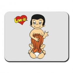 Коврик для мыши Love is... Sex :) - FatLine