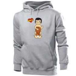 Мужская толстовка Love is... Sex :)