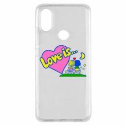 Чехол для Xiaomi Mi A2 Love is...