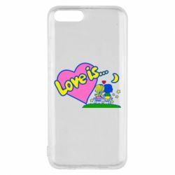 Чехол для Xiaomi Mi6 Love is...