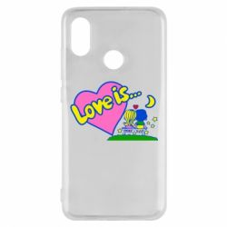 Чехол для Xiaomi Mi8 Love is...