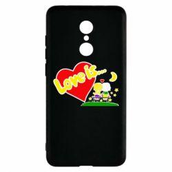 Чехол для Xiaomi Redmi 5 Love is... - FatLine