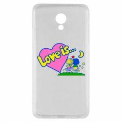 Чехол для Meizu M5 Note Love is... - FatLine